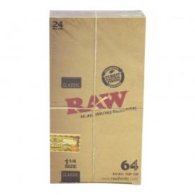Papel Raw 1 1/4 64 hojas....
