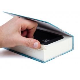 Ocultación caja en un libro...